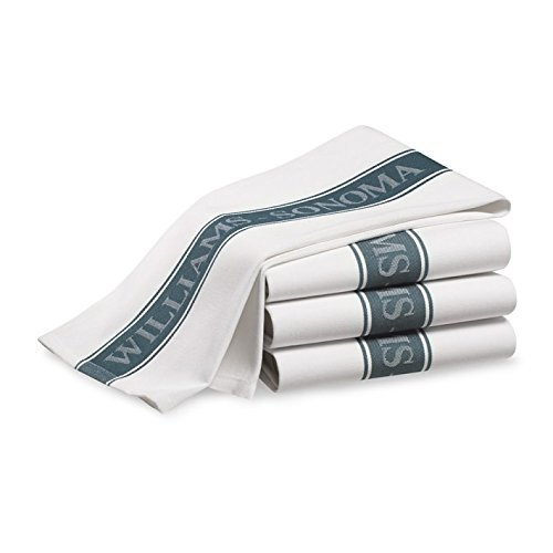 Williams Sonoma Kitchen Towels  Set Of 4   French Blue