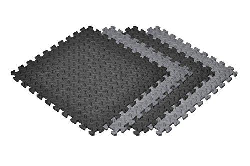 (Norsk Solid Color Diamond Plate Foam Tiles - EVA Foam Interlocking Tiles)