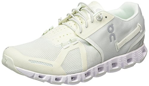On Running Cloud Ice/White W 9, Chaussures Compétition Femme, Blanc (Ice/White), 40.5 EU