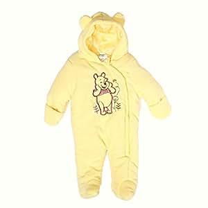 Winnie the Pooh Baby Girl Plush Hooded Fleece Pram Fall/Winter Outwear (6-9 months)