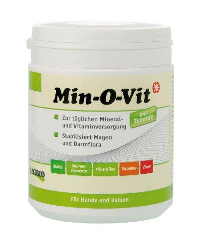 Anibio Min-O-Vit 160 g Ergänzungsfutter für Hunde und Katzen, 1er Pack (1 x 0.16 kg)