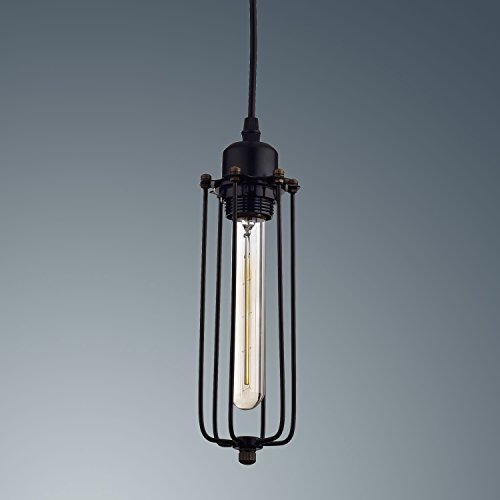 YOBO Lighting Vintage Industrial Mini Wire Cage Hanging