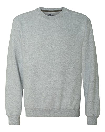 GILDAN Adult Premium Cotton Crew Neck Sweatshirt>XL Sport Grey 92000