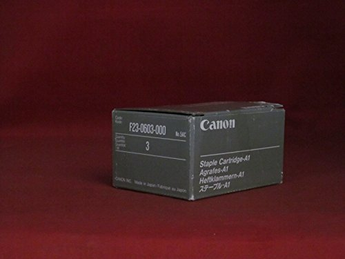 Price comparison product image Canon A1 Staple Cartridge 3Pack (Oem 0248A001Aa, F23-0603-000) 5,000 Staples Ea.