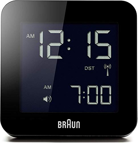 braun digital lcd alarm clock - 2