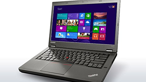 Lenovo Thinkpad Business Notebook T440p 20AWX50300 (14-inch Display, i5-4300M 2.6Ghz, 4GB RAM, 500GB Hard Drive, 720p camera, Bluetooth 4.0, DVD Recordable, Windows 7 Pro 64)