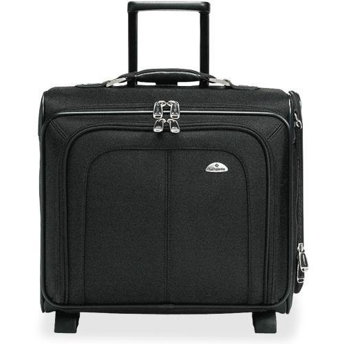 "11020-1041 Samsonite Carrying Case for 15"" Notebook - Black - Ballistic Nylon, Ethylene Vinyl Acetate (EVA)"