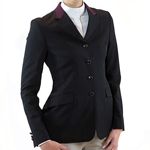 RJ Classics Ladies Marley Hunt Coat (Black/Wine, 00R)