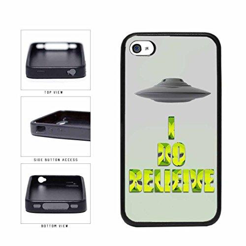 BleuReign(TM) Super Natural I Believe In Aliens TPU RUBBER Phone Case Back Cover Apple iPhone 4 4s (4s Supernatural Cases Galaxy)
