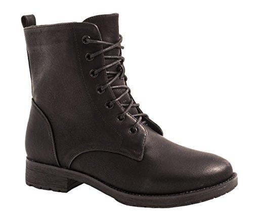 Elara - botas estilo motero Mujer Schwarz -