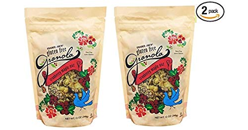 Trader Joe's Gluten Free Granola Cranberry Maple Nut, 12oz, 2 packs