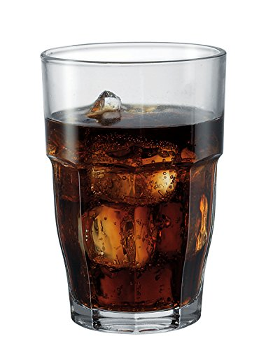 Rocks Drinking Glass (Bormioli Rocco 21.75 oz. Rock Bar Stackable Super Cooler Glass, Set of 6)