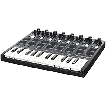 reloop keypad compact usb midi keyboard with daw control and drum pads musical. Black Bedroom Furniture Sets. Home Design Ideas