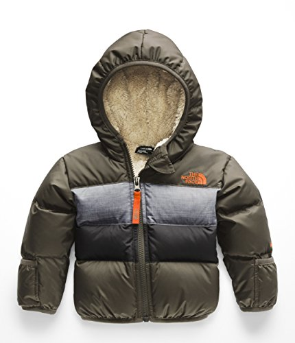 The North Face Infant Moondoggy 2.0 Down Jacket - New Taupe Green - 12M (Moondoggy Jacket)