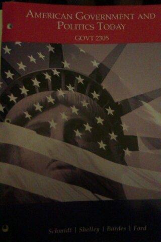 Read Online American Government and Politics Today (American Government and Politics Today: GOT 2305) pdf epub