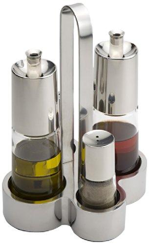 Vinagrera de 4 piezas con spray dosificador BRA Bella por solo 29,12€