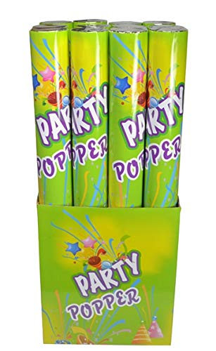 Confetti Party Poppers 19 Inch 12ct]()
