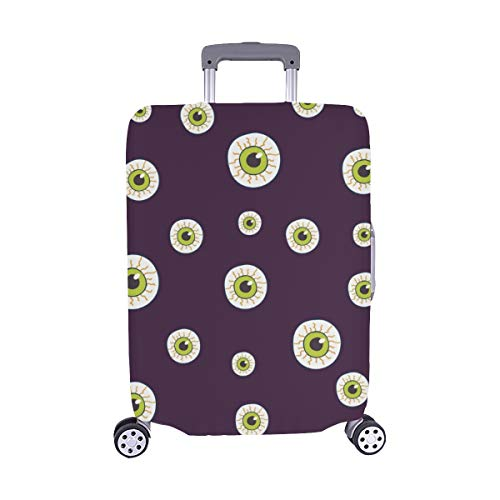 Halloween Trick Treat Candies Spandex Trolley Case Travel Luggage Protector Suitcase Cover 28.5 X 20.5 Inch -