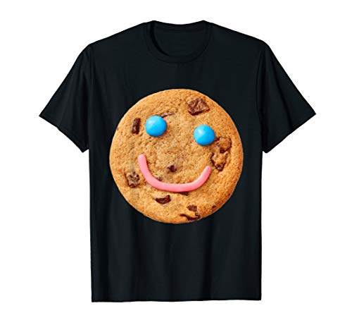 Smiley Cookies Halloween (Cookie Smiley Halloween Funny Matching Costume For Couples )
