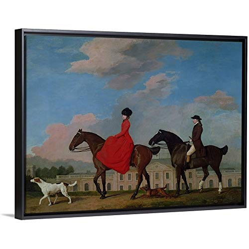 John and Sophia Musters Riding at Colwick Hall, 1777