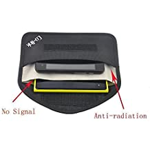 Co-link Cell Phone Anti-tracking Anti-spying GPS Rfid Signal Blocker Pouch Case Bag Handset Function Bag (Black)