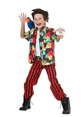 Joker Pet The Costume (Child Ace Ventura Costume with Wig)