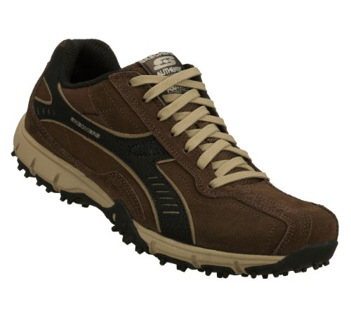 Zapatillas De Deporte Skechers Urban Flex Top Shelf Para Hombre Con Cordones De Chocolate