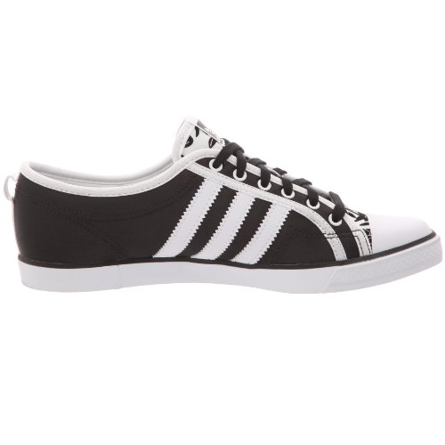 adidas Nizza Low Sleek, Basket mode femme - noir/blanc/noir, 40 EU: Amazon.fr: Chaussures et Sacs