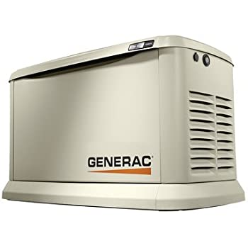 Generac 7040 Synergy 20kW/18kW Variable Speed Air Cooled Home Standby Generator with Whole House 200 Amp Transfer Switch and Mobile Link (not CUL)