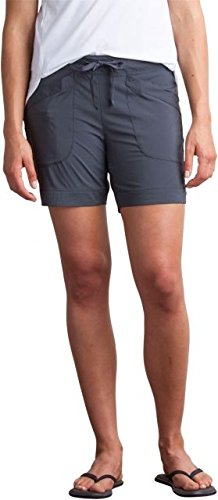 ExOfficio Sol Cool Shorts, Carbon, Size 12 (Spandex Officio Shorts Ex)