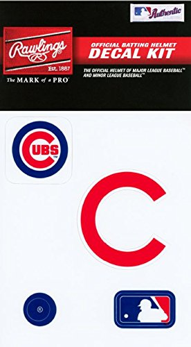 fan products of Rawlings Sporting Goods MLBDC Decal Kit, Chicago Cubs