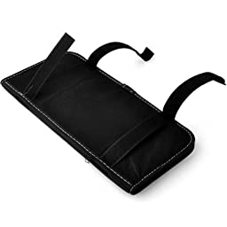 CD Visor Organizer,Car Sun Visor Tissue Bag Multi Function Double-deck Auto Extra Car Vehicle Pocket ,CD Holder Visor with Tissue Holder,16 Cd/dvd Slots Stored Safely CD Storage Cases for Car