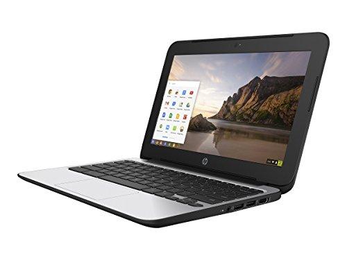 (HP Chromebook 11 G4 11.6 Inch Laptop (Intel N2840 Dual-Core, 2GB RAM, 16GB Flash SSD, Chrome OS), Black (Renewed))