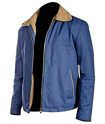 95e0d062d Mens The Drop Tom Hardy Bob Fur Bomber Cotton Jacket at Amazon Men's ...
