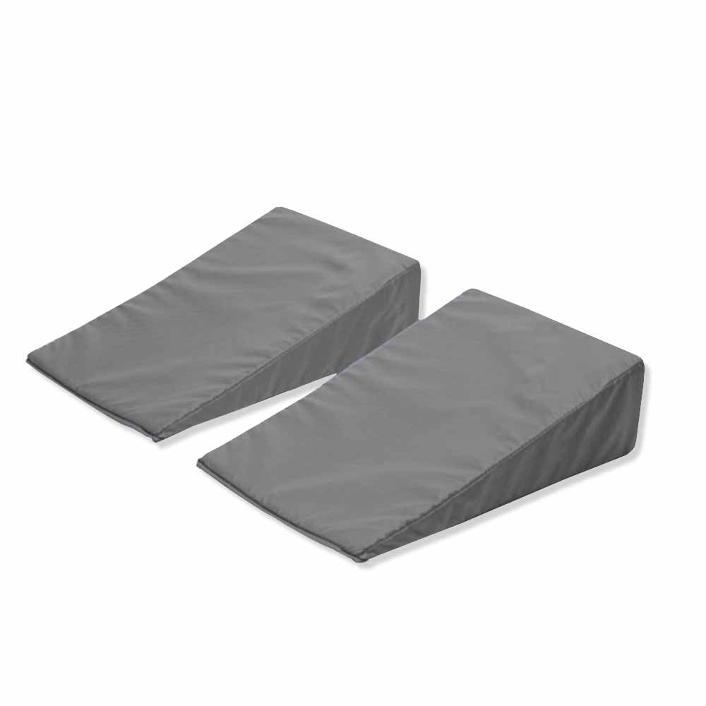 PDC Healthcare SD2015 Position Aid, 15 degree Wedge, Stay-Dry, 3'' x 7'' x 11'', Gray (Pack of 2)