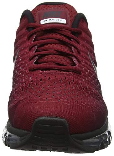 2017 Pour Noir De 001 Gymnastique Chaussures Max noir Rouge Homme Nike Air FqwETT