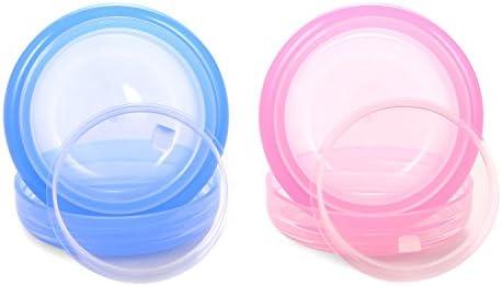 Amazon.com: veaide pequeños recipientes de plástico con ...