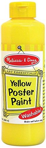 Melissa Doug Washable Yellow Poster