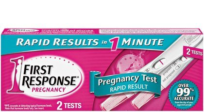 First Response Rapid Result Pregnancy Test, 2CT (Pack of 18)