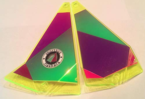 "Shortbus Flashers - 8"" Triangle Flasher"