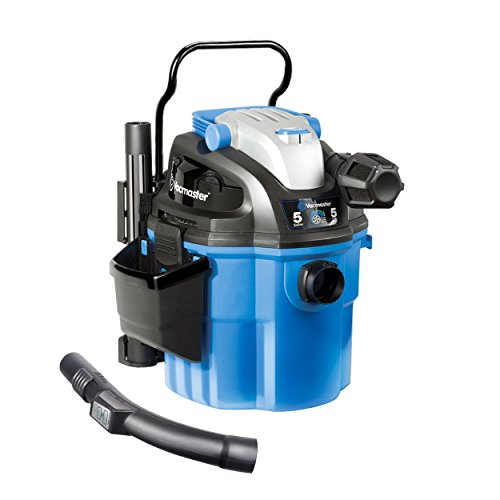 Vacmaster 5 Gallon, 5 Peak HP, with 2-Stage Motor, Wet/Dry Vacuum, Wall Mountable and with Remote Control (Renewed)
