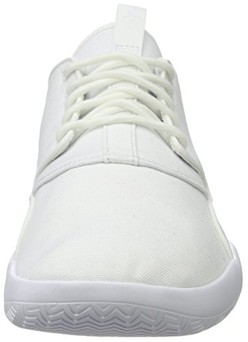 Nike Jordan Eclipse, Zapatos de Baloncesto para Hombre, Gris Blanco (White/white-white)