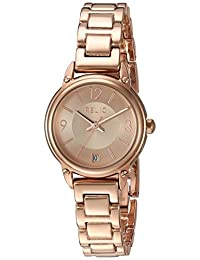 Relic Women's 'Lila' Quartz Metal and Alloy Casual Watch, Color:Rose Gold-Toned (Model: ZR34388)