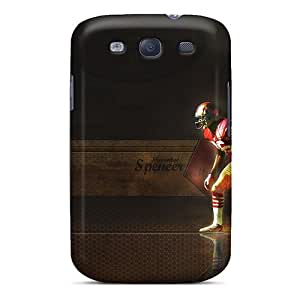 Protector Cell-phone Hard Covers For Samsung Galaxy S3 (zBV4504thZu) Support Personal Customs Stylish San Francisco 49ers Image