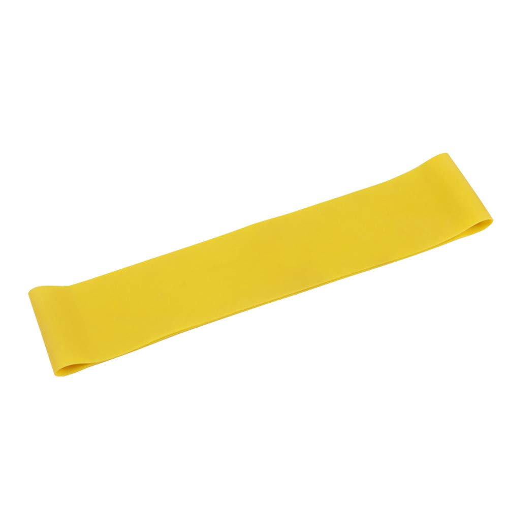 Resistance Band Loop Yoga Pilates Workout Flexbands Exercise Strength Training for Physical Therapy Rehab Stretching Home Fitness (500501.2㎜)