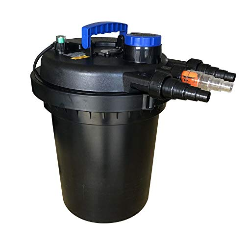 Polar Aurora Pond Pressure Bio Filter 13W UV Sterilizer Light 10000L Koi Water ()