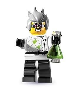 LEGO Minifiguras Coleccionables: Científico Loco Minifigura (Serie 4)