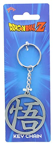 Dragon Ball Z Collectibles Z Goku's GO Symbol Metal Key Chain -