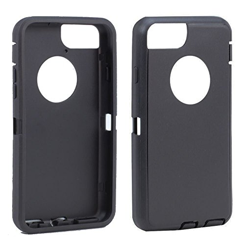Apple iPhone 6 Plus 5.5 Replacement TPE Silicone Skin for Otterbox Defender Series Case Cover For Apple iPhone 6Plus/iPhone 6s Plus 5.5 inch (Black) (Best Iphone 6 Skins)