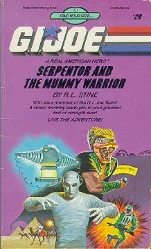Serpentor and the Mummy Warrior (G.I. Joe, Find Your Fate No. 20) (Cat Mummy)